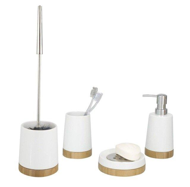 Zestaw akcesoriów łazienkowych BAMBOO